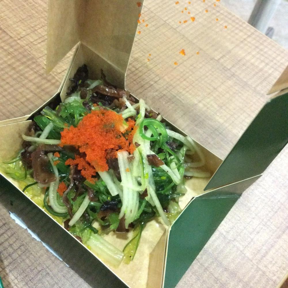 seaweed salad go bento bgc